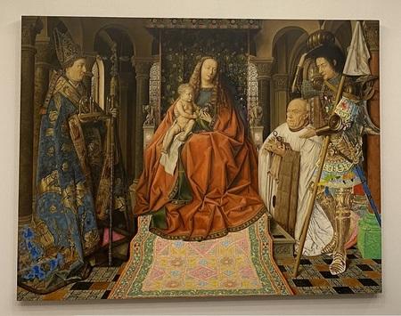 Drean a Dream ~ Jan van Eyck Madonna met kanunnik Joris van der Paele.JPG