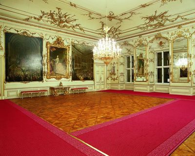 Schonbrunn Palace, Hall of ceremonies.jpg