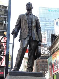 george m cohan statue 2.JPG